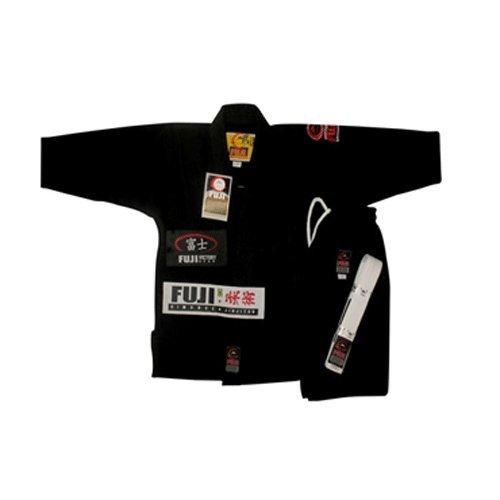 Fuji Kids Youth Childrens All Around Brazilian Jiu Jitsu Gi Jiu-Jitsu BJJ  Black